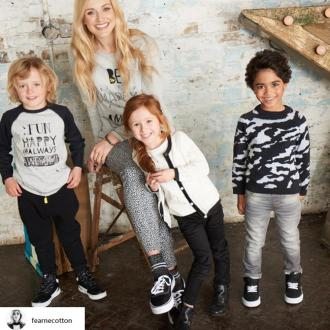Fearne Cotton will launch a children's clothing range this month