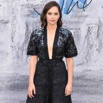 Felicity Jones has to curb appetite for crisps