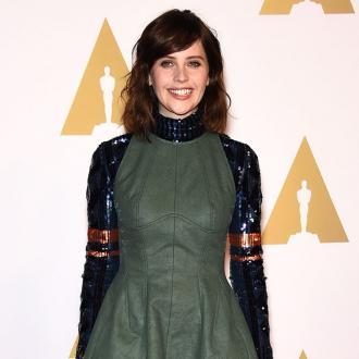 Feicity Jones wanted to sleep through Oscar nominations