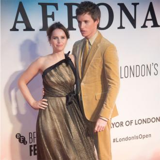 Eddie Redmayne adores working with Felicity Jones