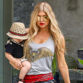 Fergie's son has started walking