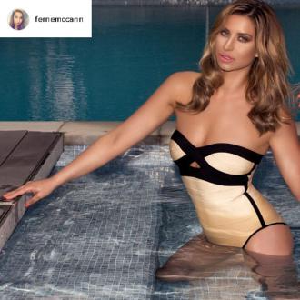 Ferne McCann launches fake tan range