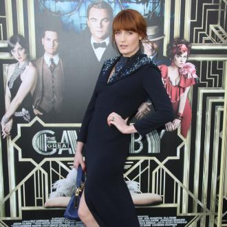 Florence Welch is too happy to write