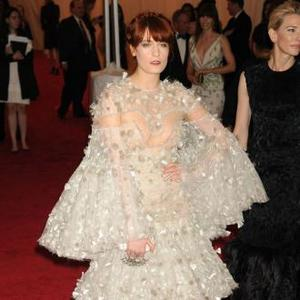 'Cross Dresser' Florence Welch