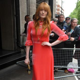 Florence Welch used to turn up to studio hungover or not all