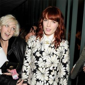 Florence Welch Parties Hard After Nme Awards