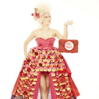Food Network UK Unveils Couture Cupcake  Creation