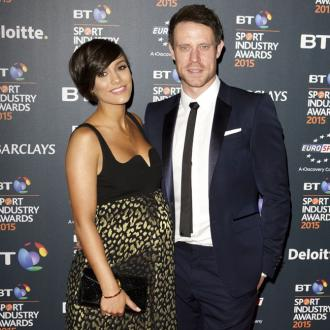 Frankie Bridge's husband embraces her tradition