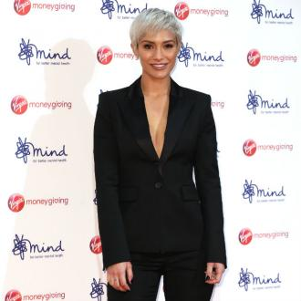 Frankie Bridge gets mouth massages