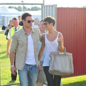 Frankie Sandford Supported By Boyfriend