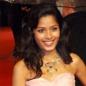 Unrecognisable Freida Pinto