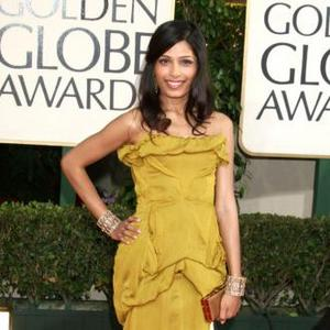 Freida Pinto Says Dev Patel Is 'Dramatic'