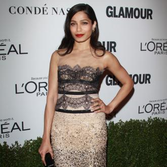 Freida Pinto: Men are the 'solution' to Hollywood's pay gap