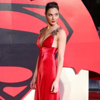 Gal Gadot's tight Wonder Woman costume