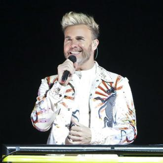 Gary Barlow admits his hair is 'departing'
