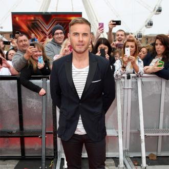 Gary Barlow's Portrait Smashed By Builders