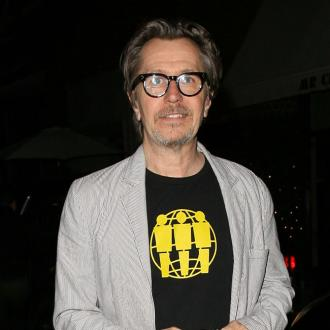 Gary Oldman's Strong Churchill Look