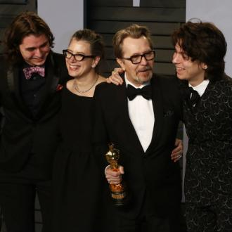 Gary Oldman defended by son