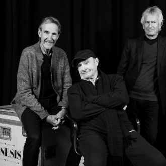 Genesis hit studio to rehearse for reunion tour