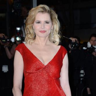 Geena Davis' ex hits back