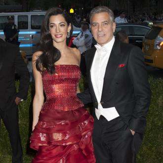 George Clooney Fits Schedule Around Wife