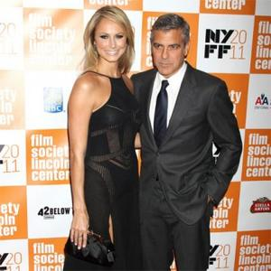 Clooney And Kiebler Hit The Red Carpet Together