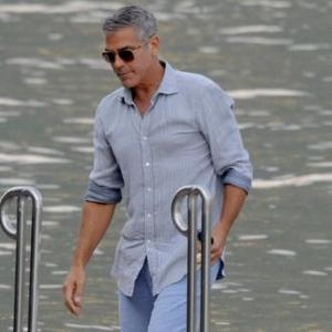 'Good Kisser' George Clooney