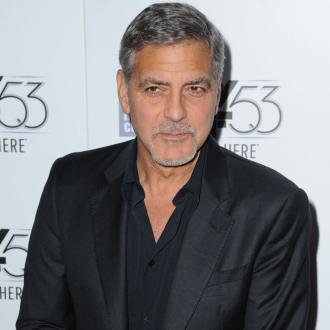 George Clooney teaching kids 'dirty tricks'