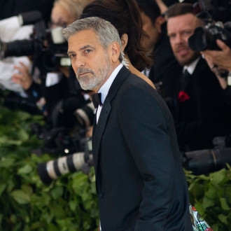 George Clooney's eyelids 'froze shut' making new movie