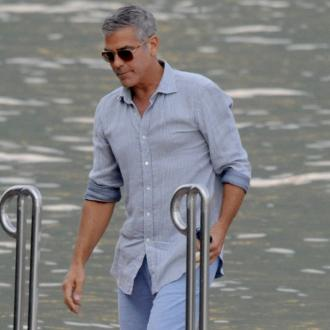 George Clooney Is Obsessed With Fresh Socks