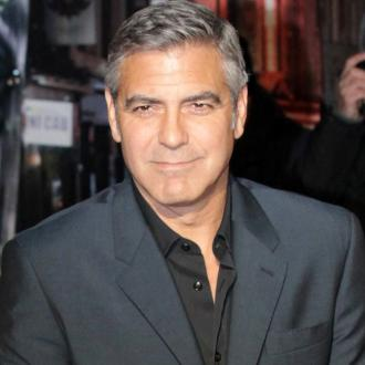 George Clooney Proposed At Home
