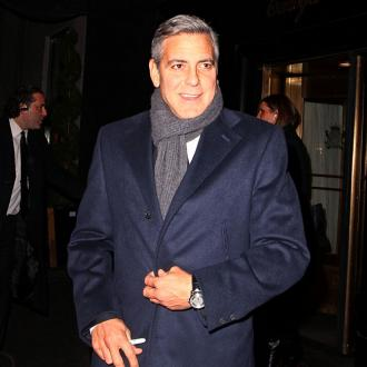 George Clooney Takes FiancéE To Downton Abbey