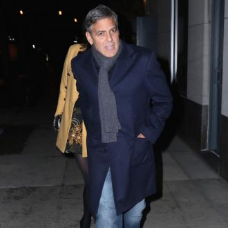 George Clooney Is Football Fan