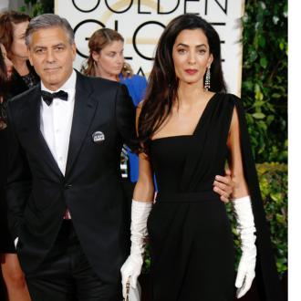 George Clooney Hosts Birthday Bash