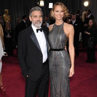George Clooney Splits From Stacy Keibler?