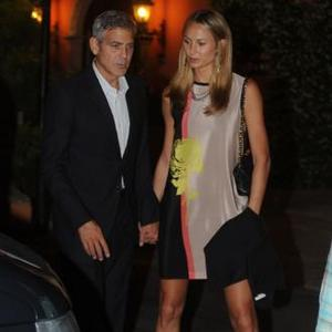 George Clooney Ill In Italy