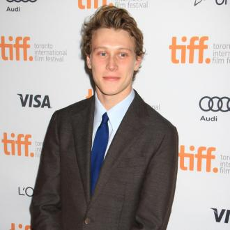 George MacKay celebrated sex scene with hug