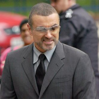 George Michael embarrassed by blonde locks