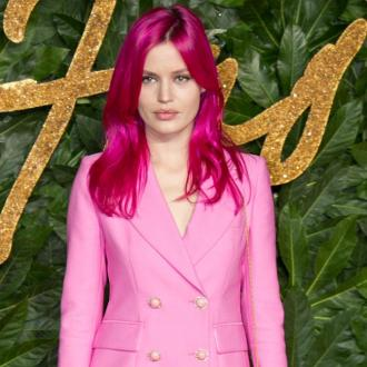 Georgia May Jagger pretty in pink at British Fashion Awards