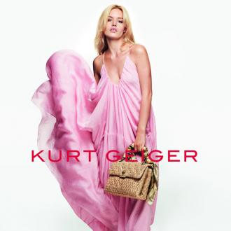 Georgia May Jagger is face of Kurt Geiger campaign