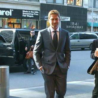 Gerard Butler Named Brand Ambassador For Hugo Boss Perfums