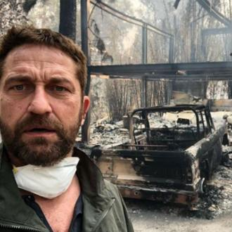Gerard Butler's Malibu home is 'half gone'