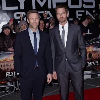 Gerard Butler Says Olympus Cast Were 'Alpha Males'