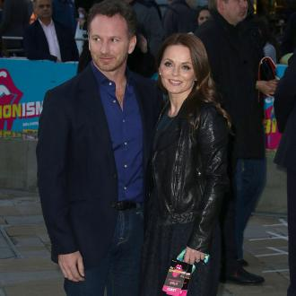 Geri Horner welcomes baby boy