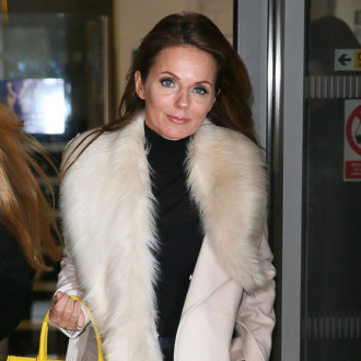 Geri Horner auctioning her Wannabe outfit for charity