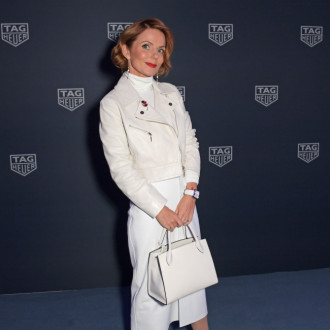 Geri Horner wears all white because it's 'one less thing to think about'