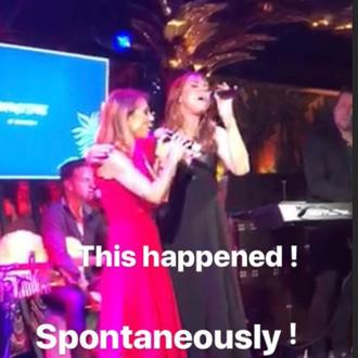 Geri Horner and Mel C host mini Spice Girls reunion