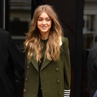 Gigi Hadid calms herself down by breathing before fashion shows