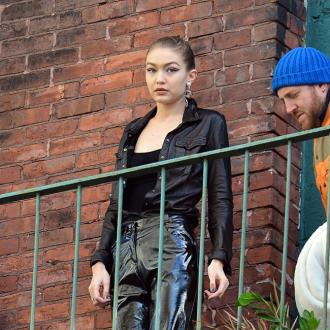 Gigi Hadid injured arm while training for virtual tennis match