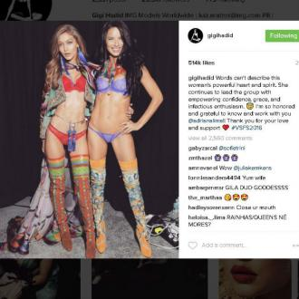 Gigi Hadid 'honoured' to know Adriana Lima